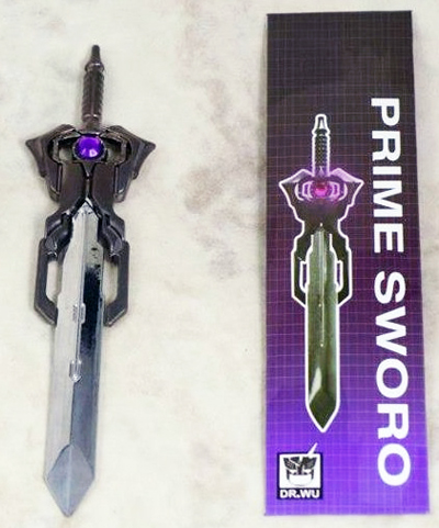 DR. Wu - DW-TP05 - Energon Sword - Purple Matrix Prime Sword