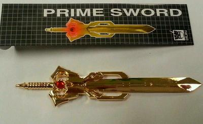 DR. Wu - DW-TP05 - Energon Sword - Gold Matrix Prime Sword
