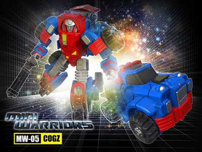 iGear - MW-05 Mini Warrior - Cogz
