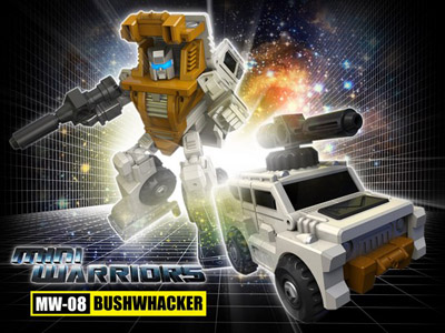 iGear - MW-08 Mini Warrior - Bushwhacker