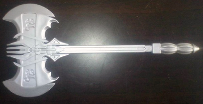 UFO Battle Axe - Silver Color