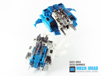 MECH iDEAS - Demolition Crue Set of 2 - DC-01 Apex & DC-02 Geminus