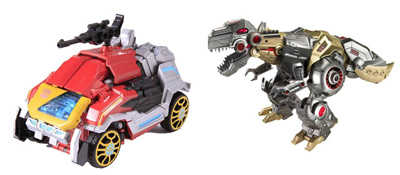 Transformers Generations 2013 Voyager Class - Wave 02 - Grimlock and Blaster with Steeljaw Set of 2