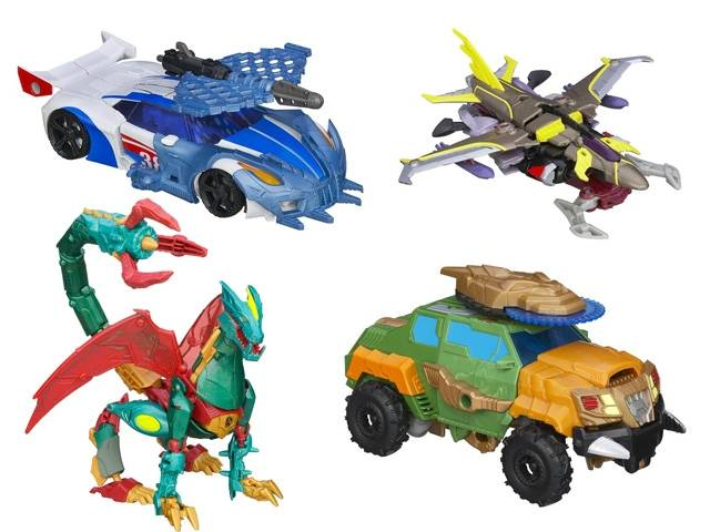 Beast Hunters - Transformers Prime - Deluxe Wave 02 - Set of 4 Figures