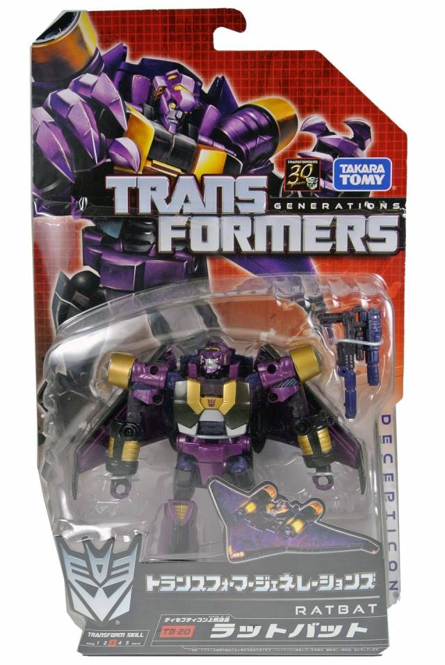 Transformers Generations Japan - TG20 Ratbat - MOSC
