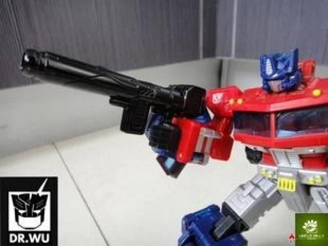DR. Wu - P-07 Duel Classics Optimus Prime - Black Gun