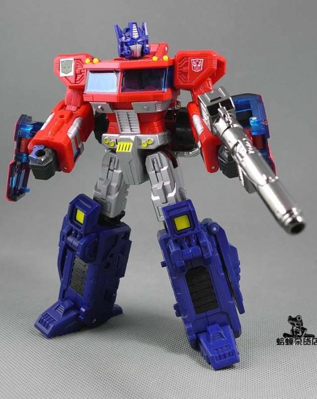 DR. Wu - P-07 Duel Classics Optimus Prime - Silver Gun