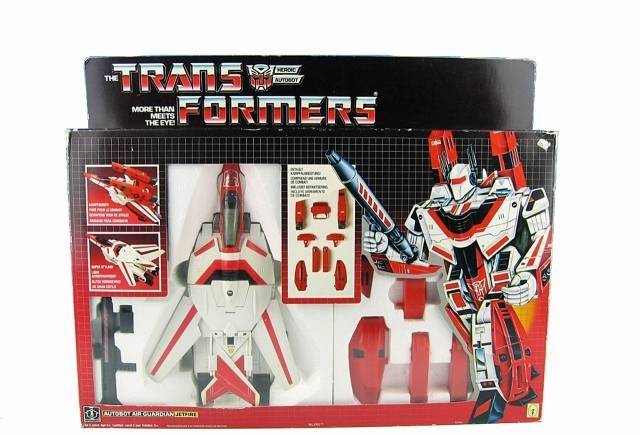 Transformers G1 - Jetfire - MIB - 100% Complete