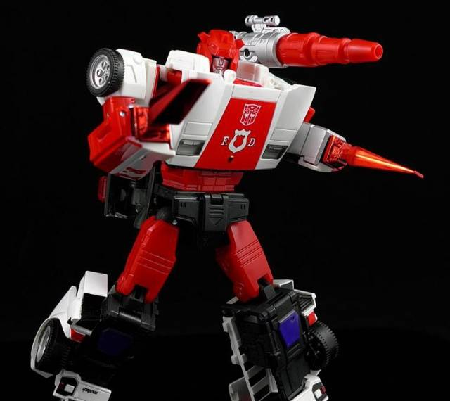 DR. Wu - DW-P09RA- Red Metal Piledrivers for MP-14 Red Alert