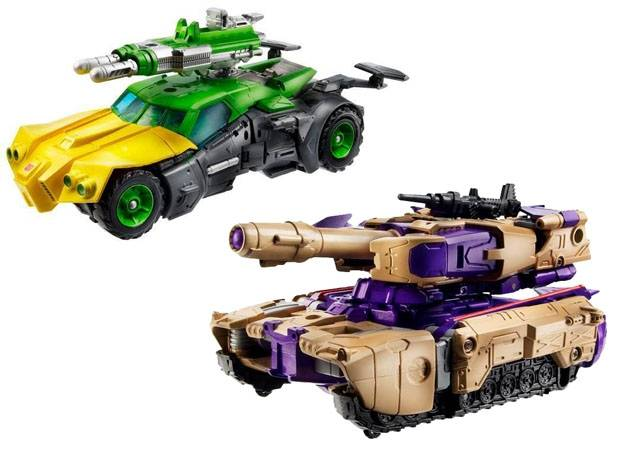 Transformers Generations 2013 Voyager Class - Wave 03 - Springer & Blitzwing Set of 2