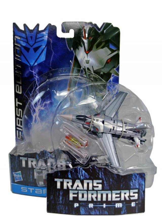 Transformers Prime Deluxe Series 01 - Starscream - First Edition - MOC