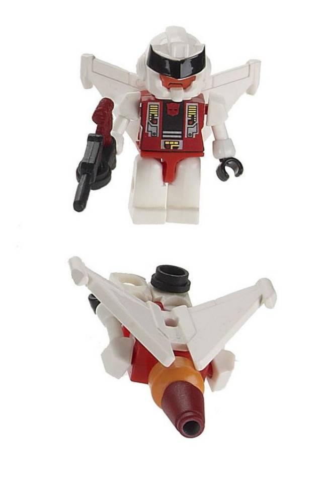 Transformers Hasbro G1 Kre-O Kreon Figure Series I Micro-Changer Quickslinger