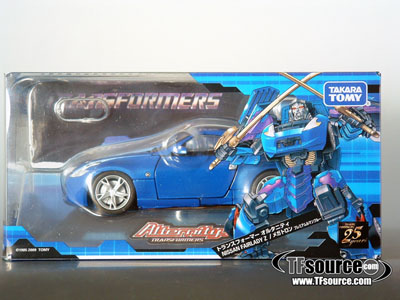 Alternity A-02 Nissan Fairlady Z - Megatron - Blue