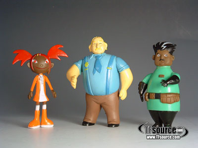 TFA Figures Series 01 - Set of 3