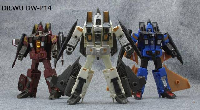 DR. Wu - DW-P14 - Rear Guard - Arm Cannon Set of 3