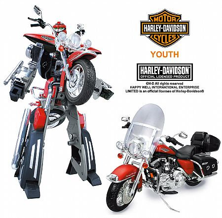RoadBot - 1:8 Scale - Harley-Davidson FLHRC Racing Classic