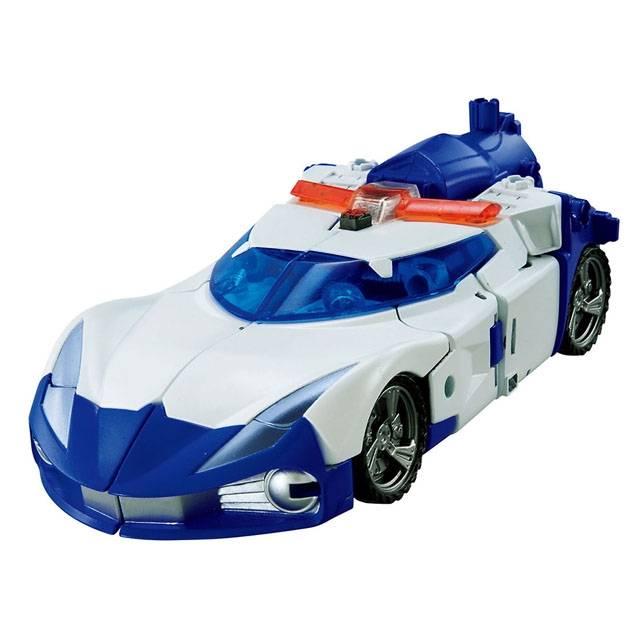 Transformers Go - G01 - Kenzan Samurai - Police Car