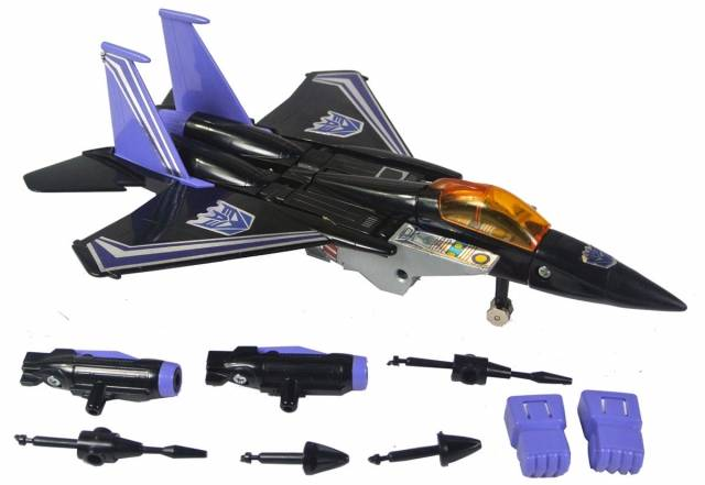 Transformers G1 - Skywarp - Loose - 100% Complete