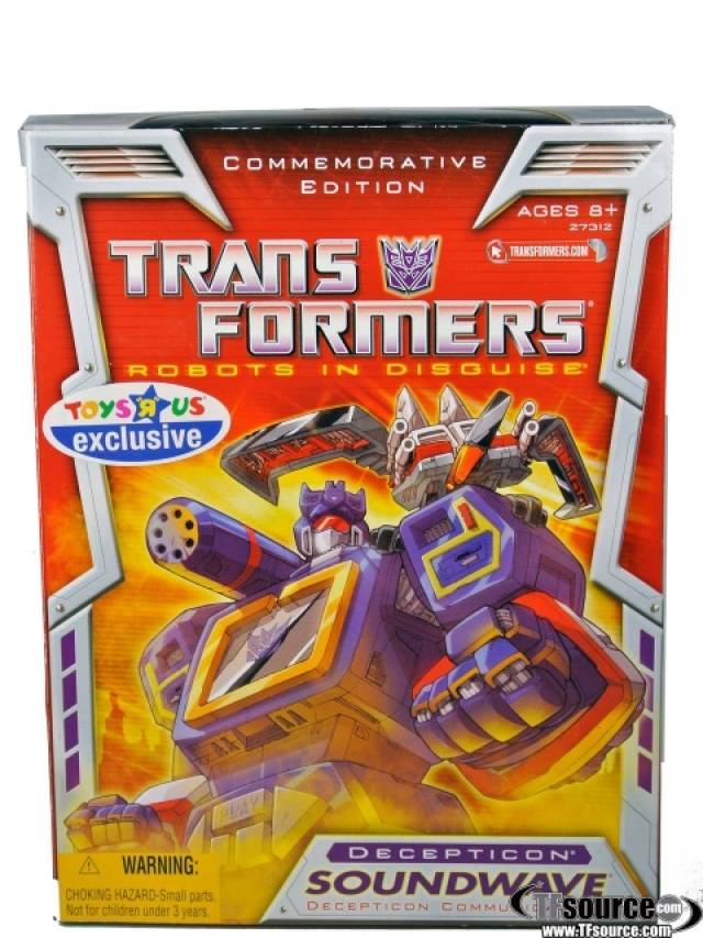 Reissue Commemorative Edition Soundwave - MISB