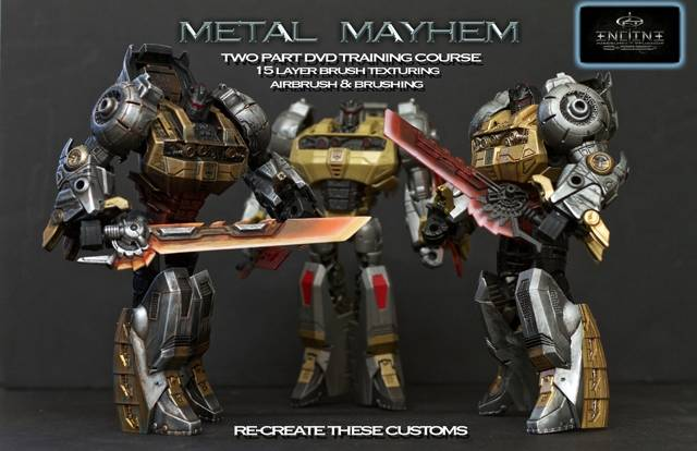 Encline Designs - Customizing Instructional DVD - Vol 02 - Metal Mayhem