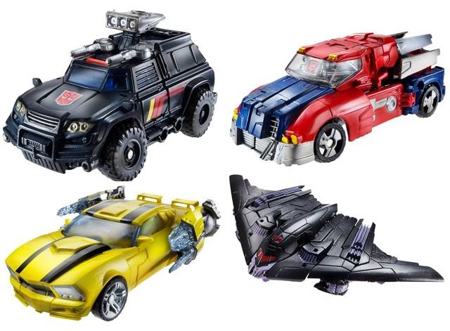 Transformers 2013 - Generations Series 03 - Set of 4