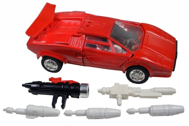 Transformers G1 - Sideswipe - Loose - 100% Complete