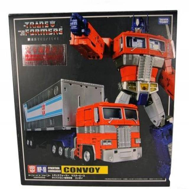 MP-10 - Masterpiece Optimus Prime - Convoy with Spike Figure - MIB