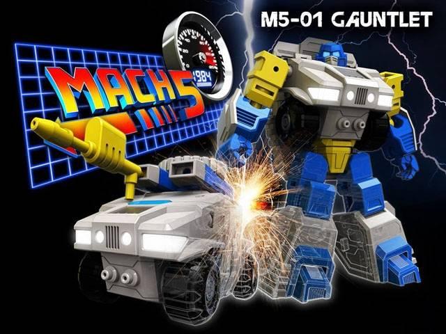 Mach 5 - M5-01 - Gauntlet