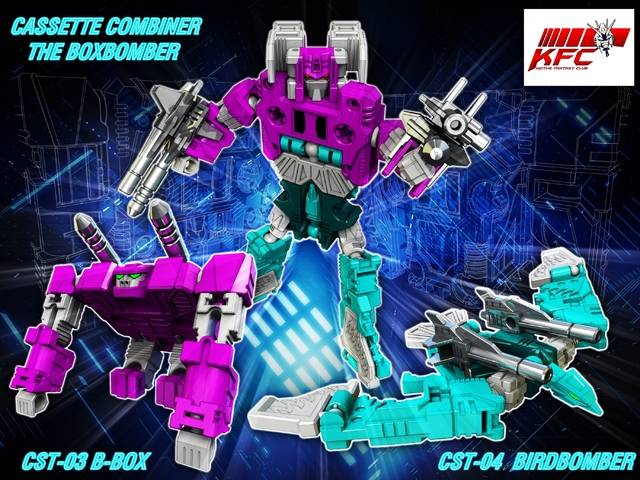 KFC - CST-03 & CTS-04 Boxbomber Set of B-Box & BirdBomber
