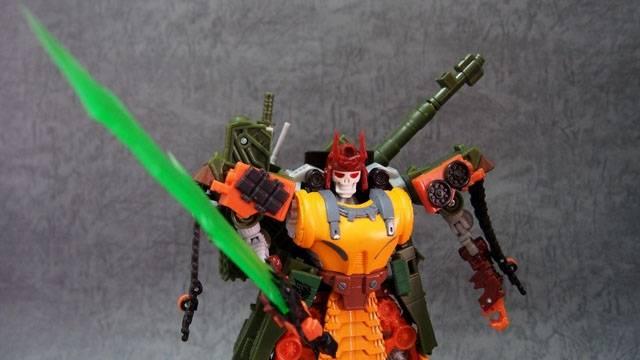 DR. Wu - DW-TP09 Tyrant Sword - Green Version