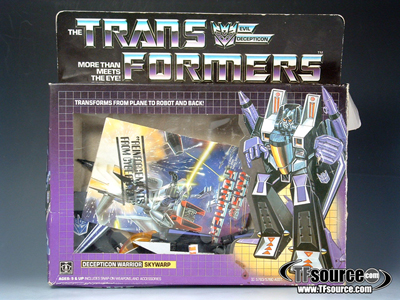 G1 Boxed - Skywarp - MIB