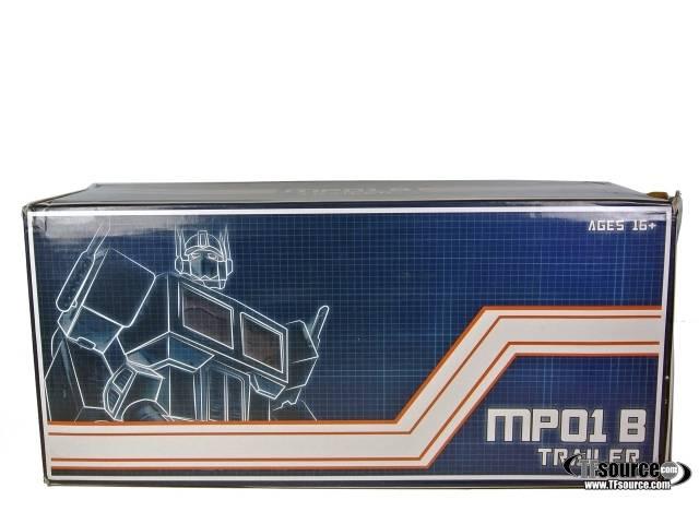 Masterpiece Optimus Prime Black Trailer - for MP-01 MP-1L MP-01B - MIB