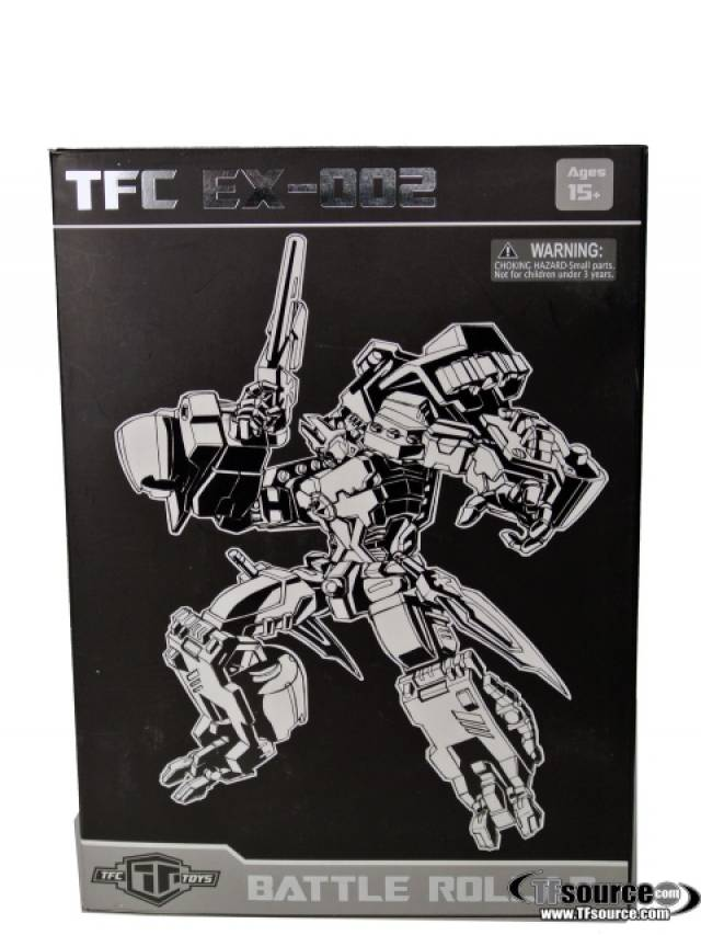 TFC MP EX-002R Battle Rollar - MIB