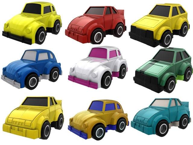 Toys For 9 : Mc set car by impossible toys