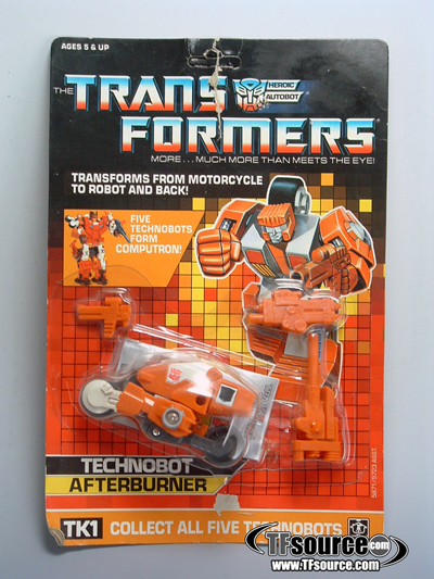 G1 Boxed - Technobot Afterburner - MOSC