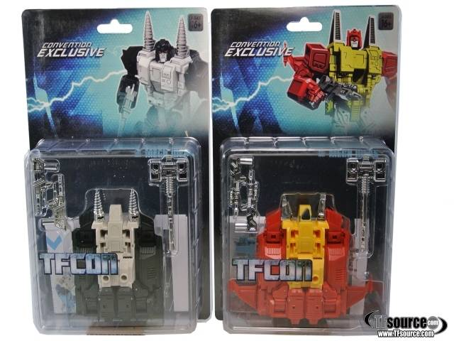 MECH iDEAS - Project Z & Prototype X - TFCon Exclusive Set of 2 Figures