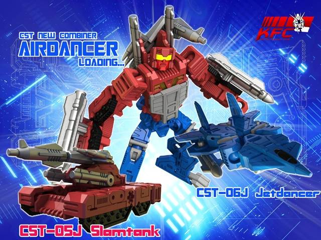 KFC - CST-05J & CTS-06J Airdancer Set of Jetdancer & Slamtank