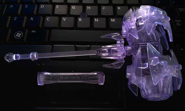 Dreamworks Toy Factory - Bulkhead - Blast Cannon Weapon - Clear Purple Version