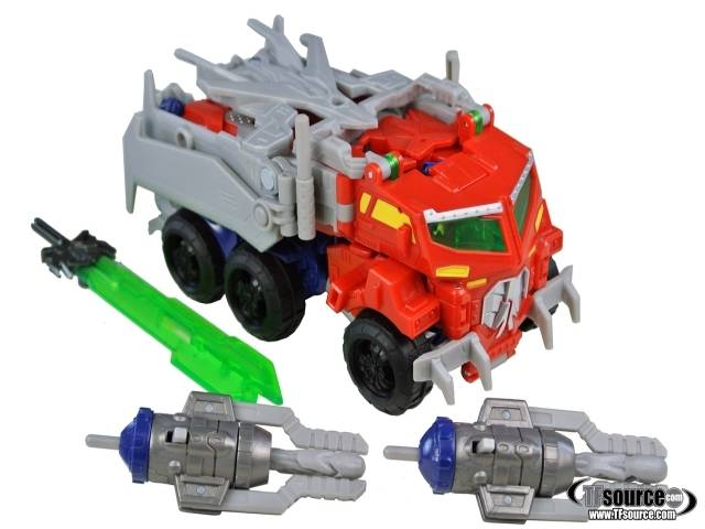 Beast Hunters - Transformers Prime - Beast Optimus Prime - Loose 100% Complete