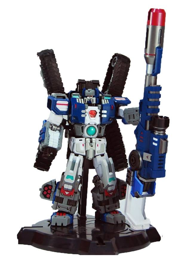 TRANSFORMERS G1 PERFECT EFFECT PE-DX03 Warden FORTRESS MAXIMUS TITANS