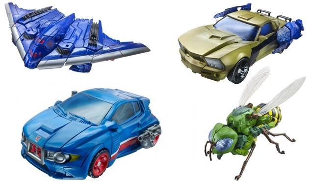 Transformers 2014 - Generations Series 01 - Deluxe - Set of 4 Figures