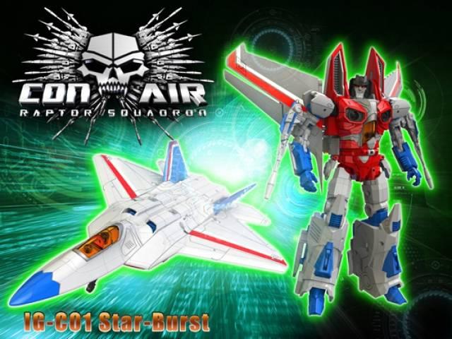 iGear - IG-C01 - Con Air Raptor Squadron - Star-Burst