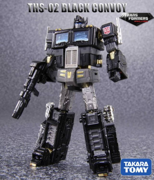 THS-02B Hybrid Style - Black Version Convoy - Asia Exclusive