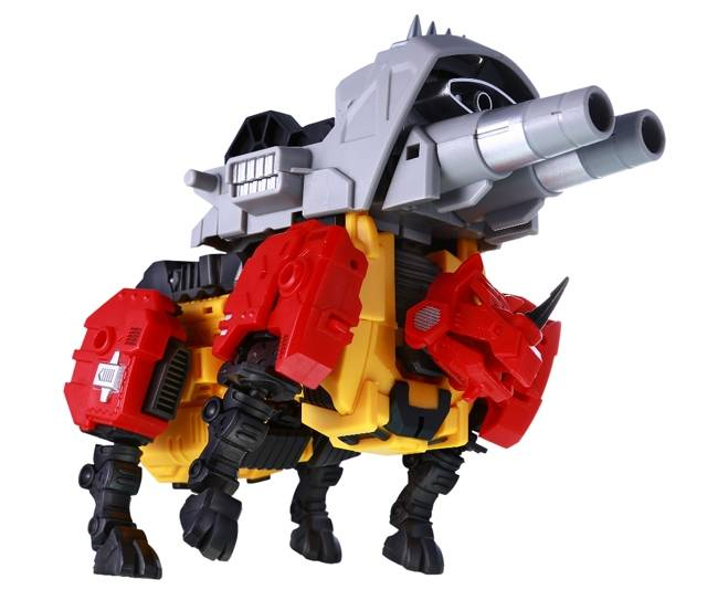 Reformatted - Feral Rex - R-05 - Fortis the Ground Assaulter
