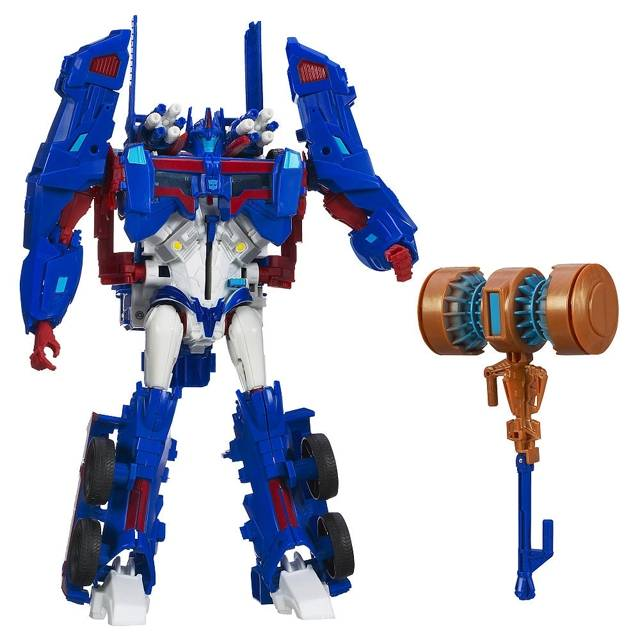 Platinum Edition - Ultra Magnus - with Forge of Solus Battle Hammer
