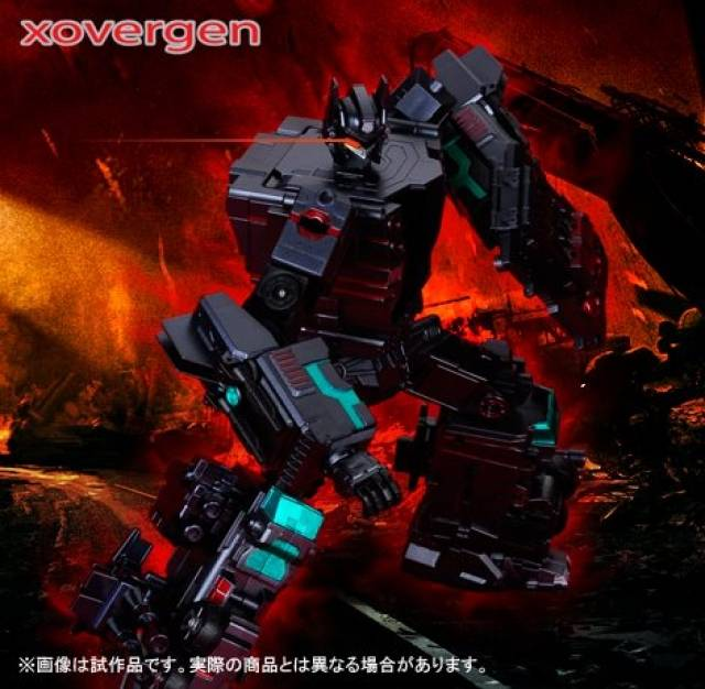 Xovergen - TF-01B - Trailer Force - Black Nemesis Version