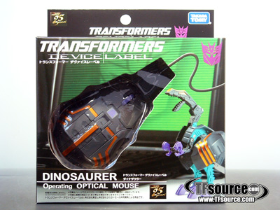 Device Label - Transforming Laser Mouse - Trypticon