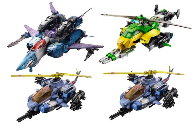 Transformers 2014 - Generations Series 02 - Voyager Case of 4