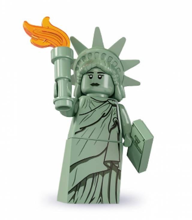 Lego Minifigures - Series 6 - Lady Liberty