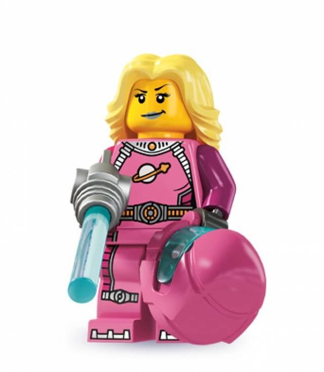 Lego Minifigures - Series 6 - Intergalactic Girl